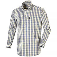 Camicia uomo Beretta Button Down White Check