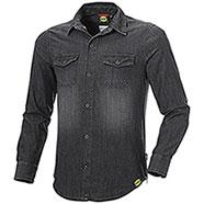 Camicia Jeans uomo Diadora Utility Denim Black
