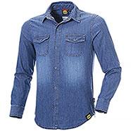 Camicia Jeans uomo Diadora Utility Denim Blu