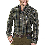Camicia Seeland Edwin Shaded Olive Check