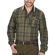 Camicia uomo Seeland Conroy Duffel Green Check
