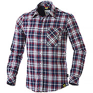 Camicia uomo Diadora Utility Red Blu Check Flanel