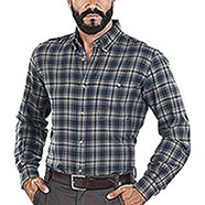 Camicia uomo Beretta Wood Flannel Green Check