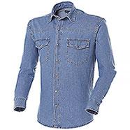 Camicia Jeans uomo New Texas