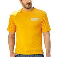 T-Shirt Navy Yellow Originale Americana