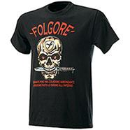 T-Shirt Fruit of the Loom Folgore Skull