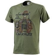 T-Shirt Born to Hunt Green