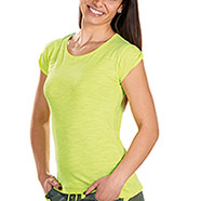T-Shirt Donna Trendy Yellow Fluo