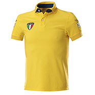 Polo piquet Italy Yellow