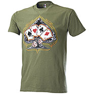 T-Shirt Fruit of the Loom Poker Aces