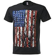 T-Shirt Fruit of the Loom USA Flag