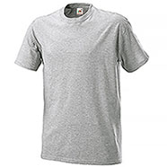 T-Shirt Fruit of the Loom Grey Mélange