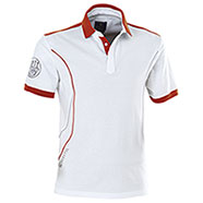 Polo Beretta Uniform Pro White-Red