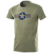 T-Shirt uomo American Air Force Green
