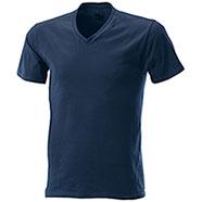 T-Shirt Navy Collo V