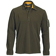 Polo Manica Lunga Jeep ® Military Green
