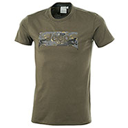 T-Shirt uomo Jeep Grille Background Military