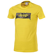 T-Shirt Jeep Grille Background Yellow
