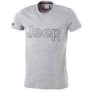 T-Shirt uomo Jeep Authentic Premium Grey Melange