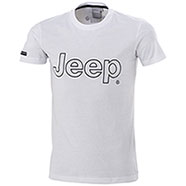 T-Shirt uomo Jeep Originale Authentic Premium White