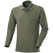 Polo manica Lunga  New Zeland Army Green