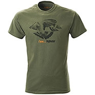 T-Shirt Colombaccio I am Big Hunter Green