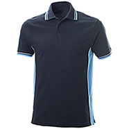 Polo Piquet Navy-Sky