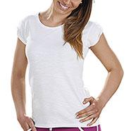T-Shirt Donna  Trendy White