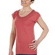 T-Shirt Donna  Quito Coral