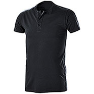 T-Shirt Serafino Black