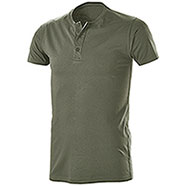 T-Shirt Serafino Army Green
