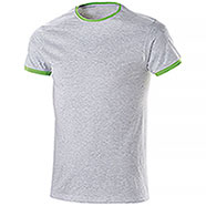 T-Shirt Trendy Mélange Green Fluo