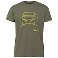 T-Shirt Jeep ® Vehicle Dusky Green original