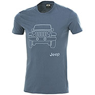 T-Shirt Jeep Vehicle Indigo