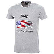 T-Shirt Jeep American Legend Light Grey Mélange