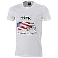 T-Shirt uomo Jeep American Legend White
