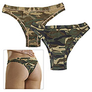 Set 2 Slip Brasiliana Donna Wood + New Camo