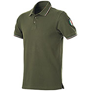 Polo piquet Flag Italy Green