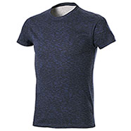 T-Shirt Fire Effect Navy