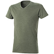 T-Shirt uomo Mélange Effect Army Green