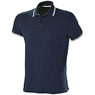 Polo Fruit of the Loom Premium Tipped Blu Notte