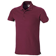 Polo Piquet Fruit of the Loom Bordeaux