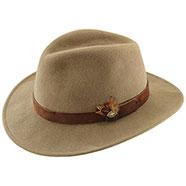 Cappello caccia Kalibro Camel Pura Lana