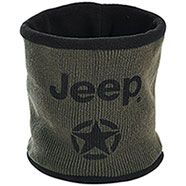 Paracollo Jeep® Neckwarmer Dark Green/Black