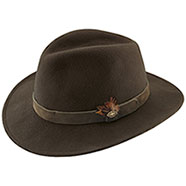 Cappello Kalibro Brown Pura lana