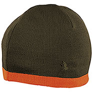 Berrettino Seeland Ian Reversible Beanie Green Orange