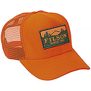Berretto con visiera Filson Logger Mesh Orange
