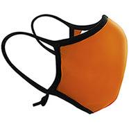 Mascherina Facciale Lavabile Arancio + 12 Filtri