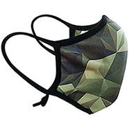 Mascherina Lavabile Riutilizzabile 3D-Camo + 12 Filtri