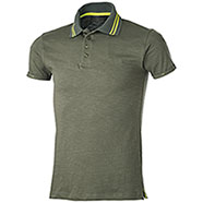 Polo Tenerife Army Green Yellow Fluo